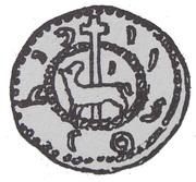 Brakteat - Bolesław Mieszkowic (Kruszwica or Inowrocław mint) – avers