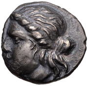Diobol (Kydonia) – avers