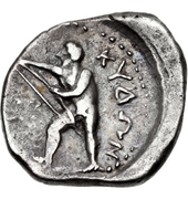 Stater (Kydonia) – revers