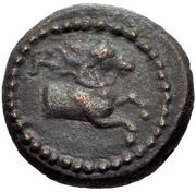 Bronze Æ13 (Kyme) – avers