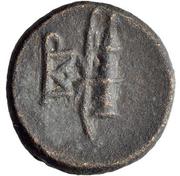 Bronze Æ13 (Kyme) – revers