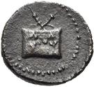 Bronze Æ15 (Kyme) – avers