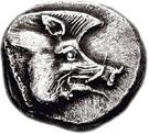 ⅓ Stater (Kythnos) – avers