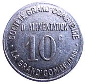 10 centimes - Société Grand'Combienne d'Alimentation - La Grand'Combe [30] – avers