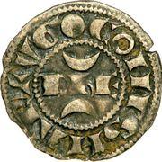 "Obole - Hugues XI de Lusignan dit ""le Brun"" (1249-1260) – avers"