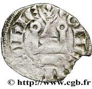 Denier - Charles de France (1314-1322) – revers
