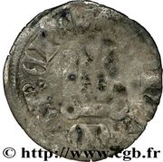 Denier tournois - Charles de France (1314-1322) – revers