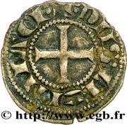 """Obole - Hugues XI de Lusignan dit """"le Brun"""" (1249-1260) – revers"""
