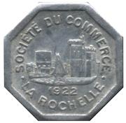 25 Centimes - Société du Commerce - La Rochelle [17] – avers