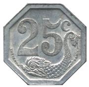 25 Centimes - Société du Commerce - La Rochelle [17] – revers