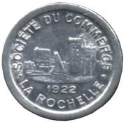 5 Centimes Société du Commerce La Rochelle [17] – avers