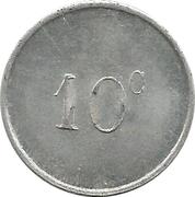 10 centimes Foyer du Soldat - La Rochelle [17] – revers