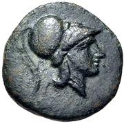 Chalkon (Lamia) – avers