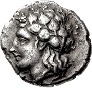 Hemidrachm - Lamia – avers