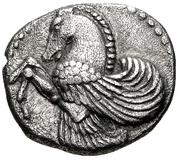 Diobol (Lampsakos) – avers