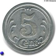 5 Centimes - Chambre de Commerce des Landes [40] – revers