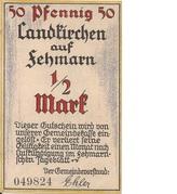½ Mark (Landkirchen auf Fehmarn) – avers