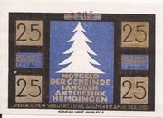 25 Pfennig (Langeln) -  avers