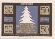 50 Pfennig (Langeln) – avers