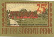75 Pfennig (Langenhorn) – revers