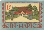 1 Mark (Langenhorn) – revers