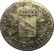 5 pfennig - Langenschwalbach – avers