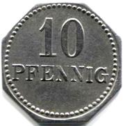 10 pfennig - Langenschwalbach – revers