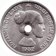 10 cents - Sisavang Vong – avers