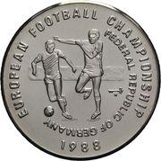 50 kip Championnat d'Europe de football Allemagne 1988 – revers