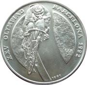 10 Kip (Jeux Olympiques Barcelone 1992) – revers