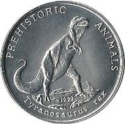 10 kip (animaux préhistoriques) -  revers