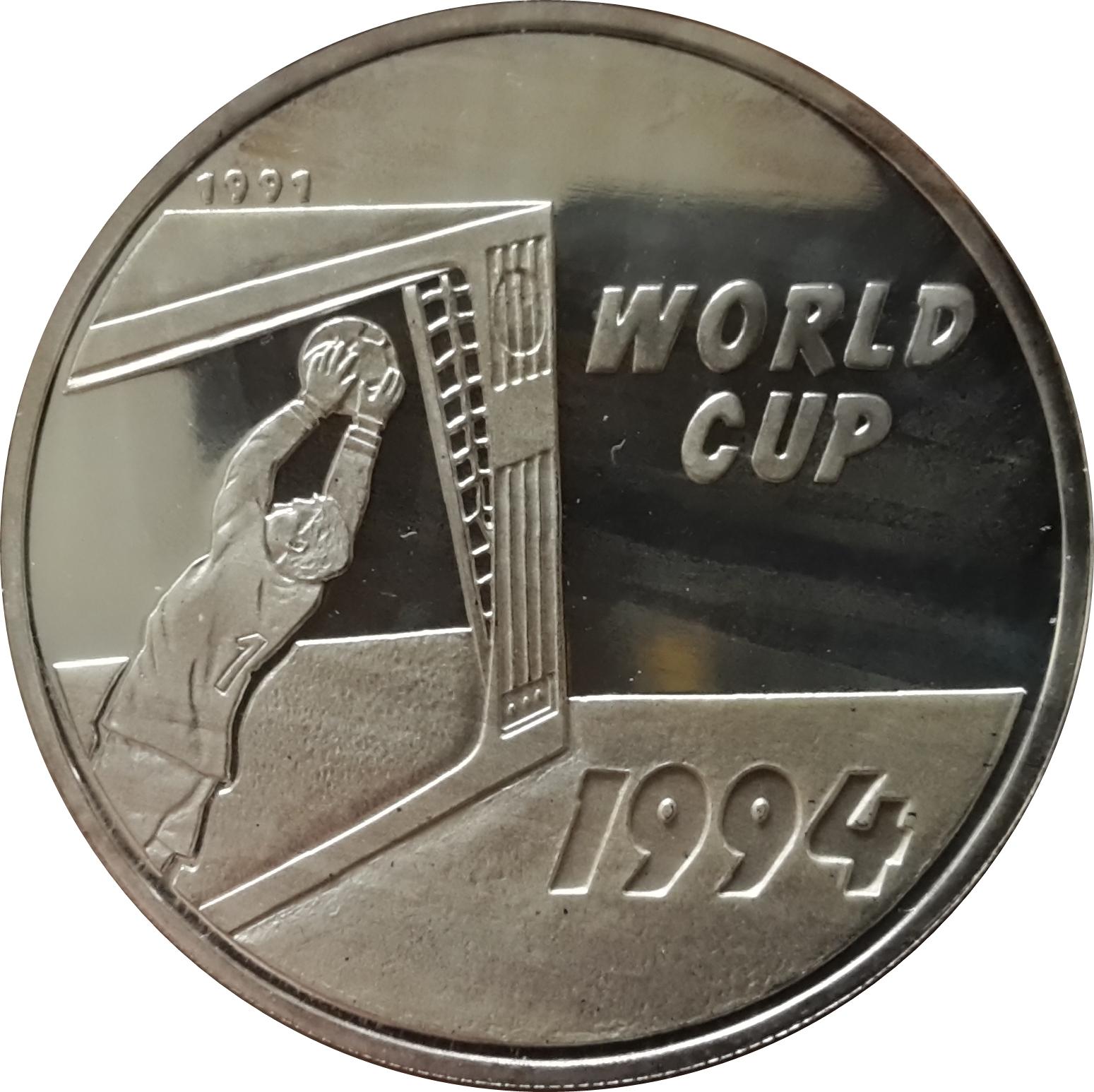 50 kip coupe du monde de football usa 1994 laos numista - Coupe du monde football 1994 ...
