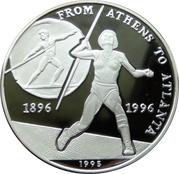 50 kip Jeux olympiques Atlanta 1996 – revers