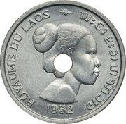 10 Cents - Sisavang Vong (Essai) – avers