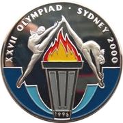 50 kip Jeux olympiques Sydney 2000 – revers