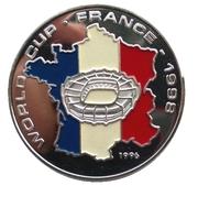 50 kip Coupe du monde de football France 1998 – revers
