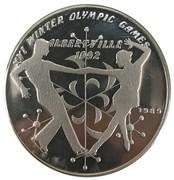 50 kip Jeux olympiques Albertville 1992 – revers