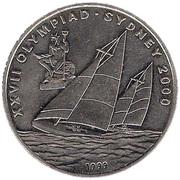 10 kip (Jeux olympiques Sydney 2000) – revers