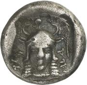 Siglos - Sidqmelek (Lapethos) – revers