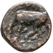 Bronze Æ11 (Larissa) – revers