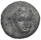 Bronze Æ10 (Larissa Phrikonis) – avers