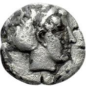 Triobol (Larissa-Ptolemais) – avers