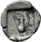 Triobol (Larissa-Ptolemais) – revers