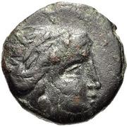 Bronze Æ13 (Larissa) – avers