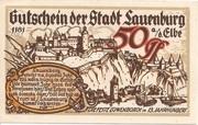 50 Pfennig (Lauenburg a. d. Elbe) – revers