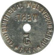 5 Pfennig - Lauenburg – revers