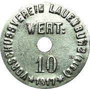 10 Pfennig - Lauenburg an der Elbe – avers