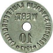 10 Pfennig - Lauenburg an der Elbe – revers