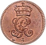½ Dreiling - George II. – avers