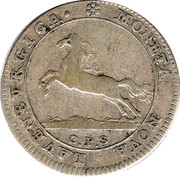 8 schilling Georg II. August – avers